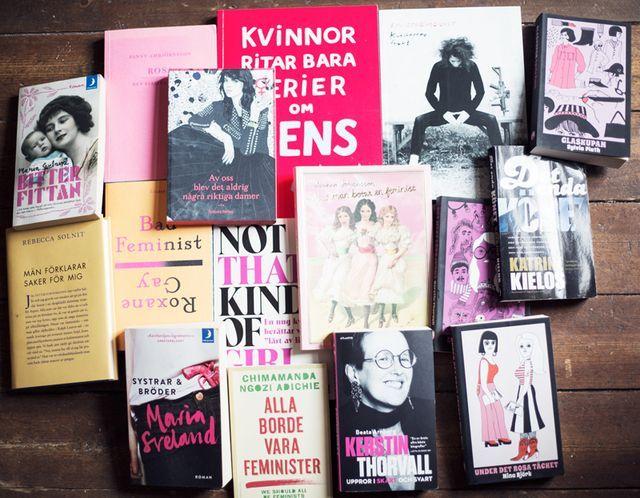Feministiska böcker!