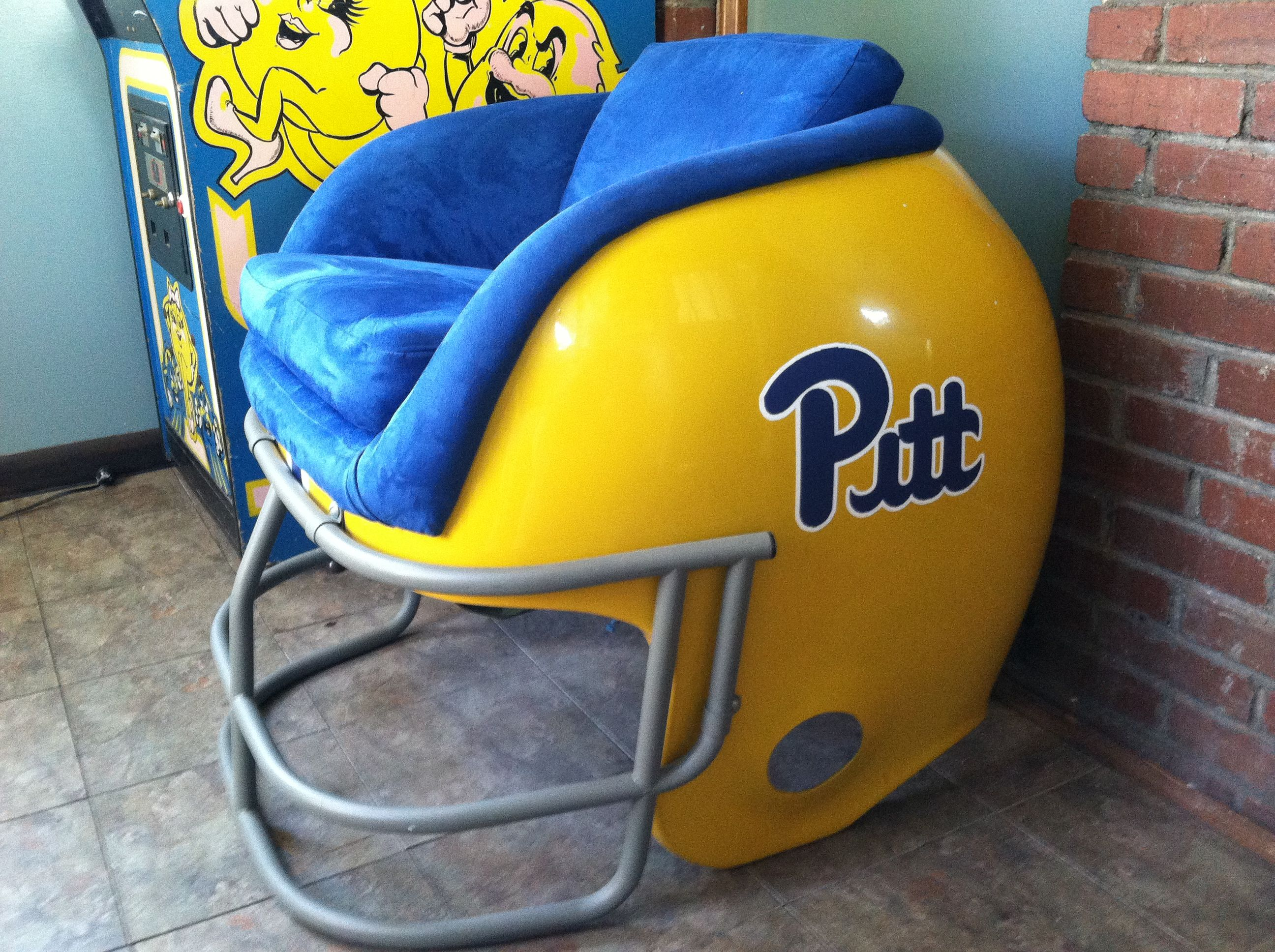 Pittsburgh Steelers Chair Pitt Panthers Helmet Chair Vintage Pittsburgh Sports