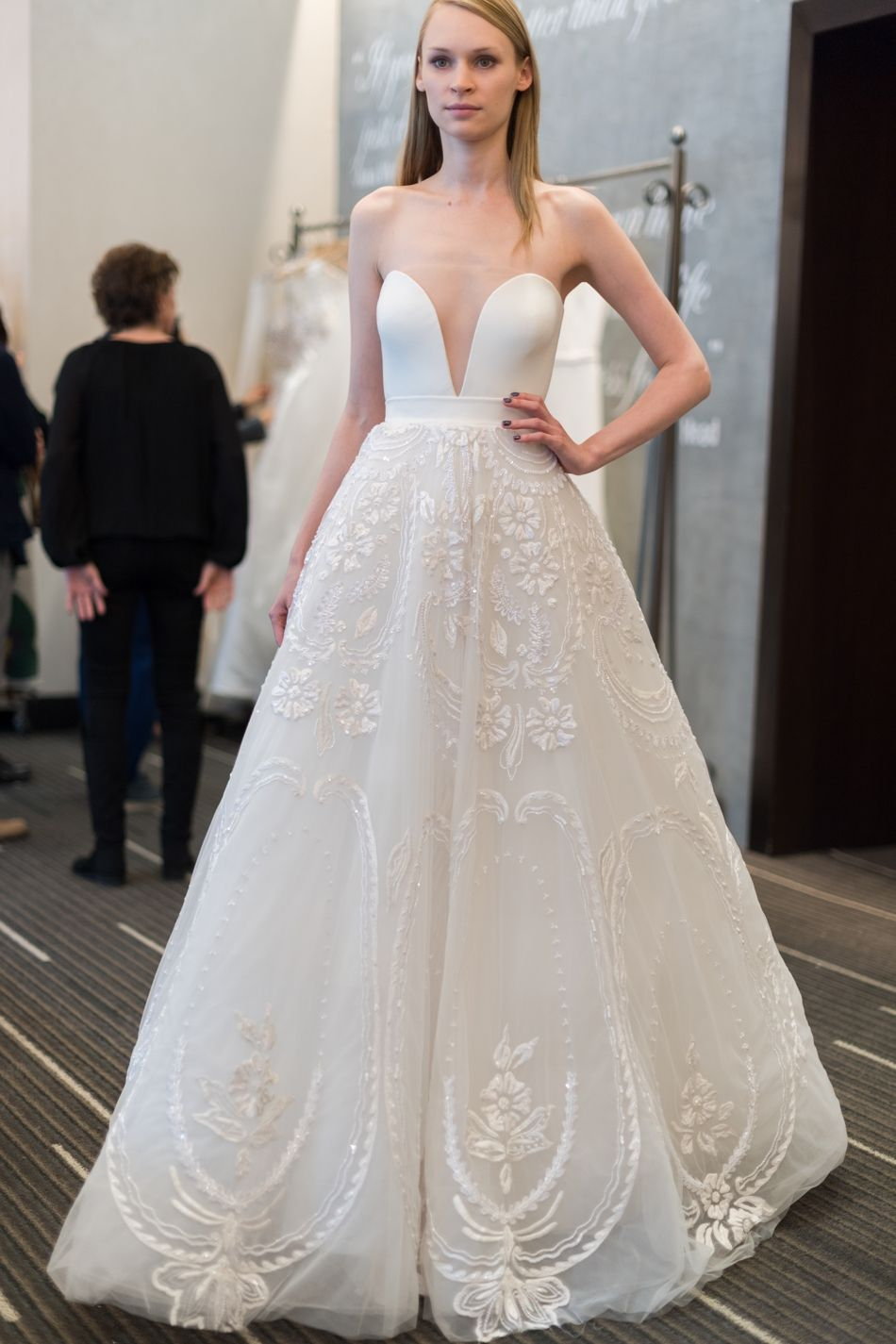 Bridal Week Designer Collections Ss18 Wedding Dress Trends 2018