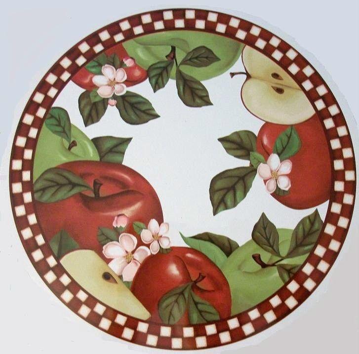 Apple Fruit Country Kitchen Stove Burner Cover Home Decor Interior  Decoration