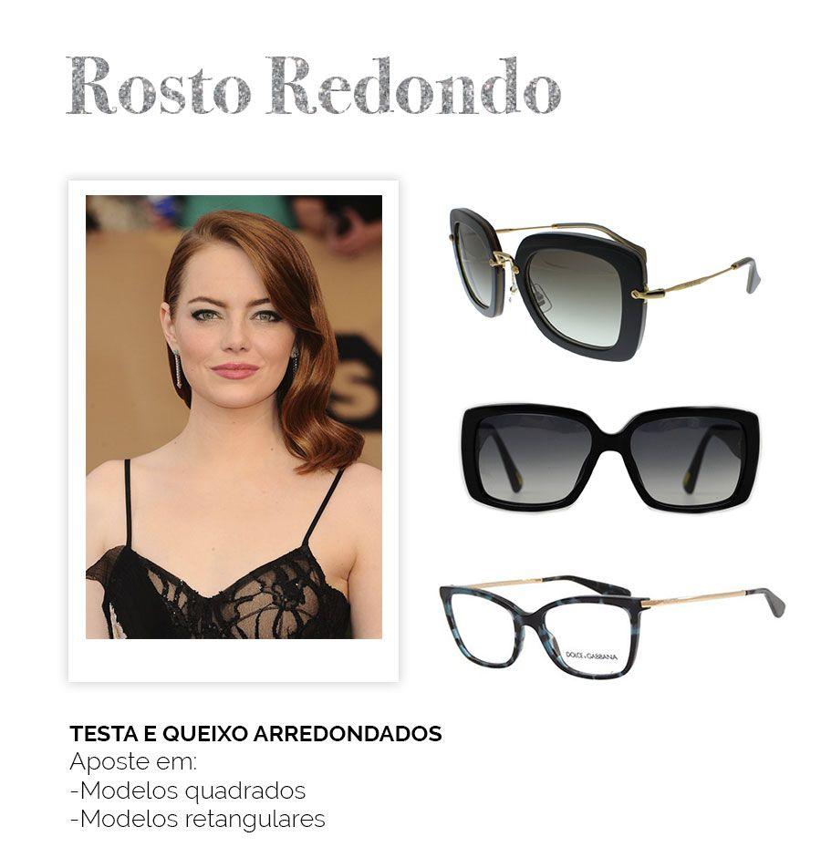77de462721f28 Modelos de óculos para cada rosto - Rosto Redondo   Como usar em ...