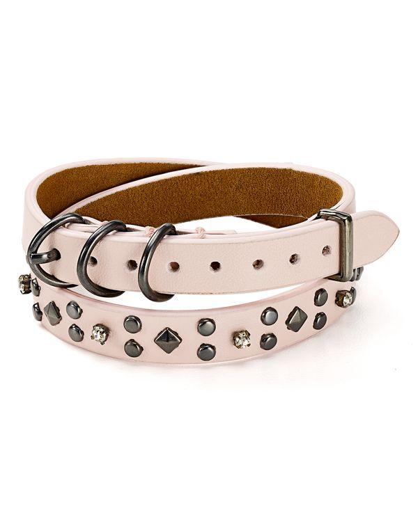 Rebecca Minkoff Stud Double Wrap Bracelet