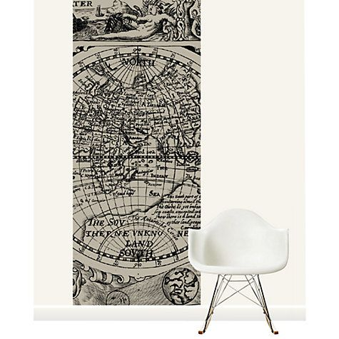 Buy surface view 17th century map of the world mural online at buy surface view 17th century map of the world mural online at johnlewis gumiabroncs Image collections