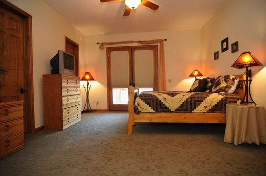 Big Bear Cabin #15 Waterscape Estate 5Bed/4.5 Bath To Book call (310) 800-5454 or click the image! #BigBear #vacation #lake #masterbed