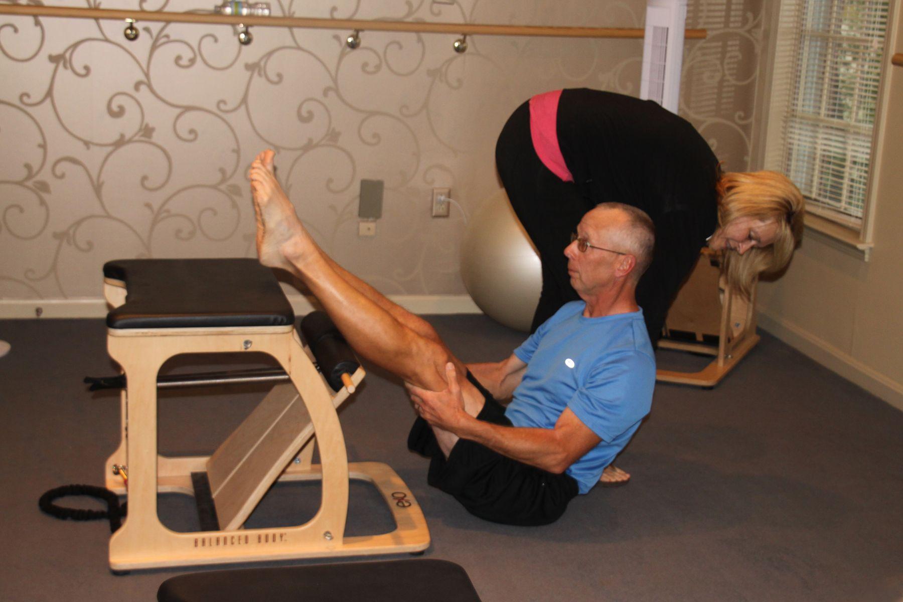 Balanced body pilates chair - Balanced Body Exo Chair