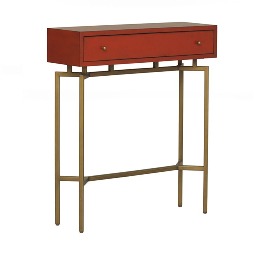 Foyer Ming Red Lacquer Chest Mitchell Gold Bob Williams