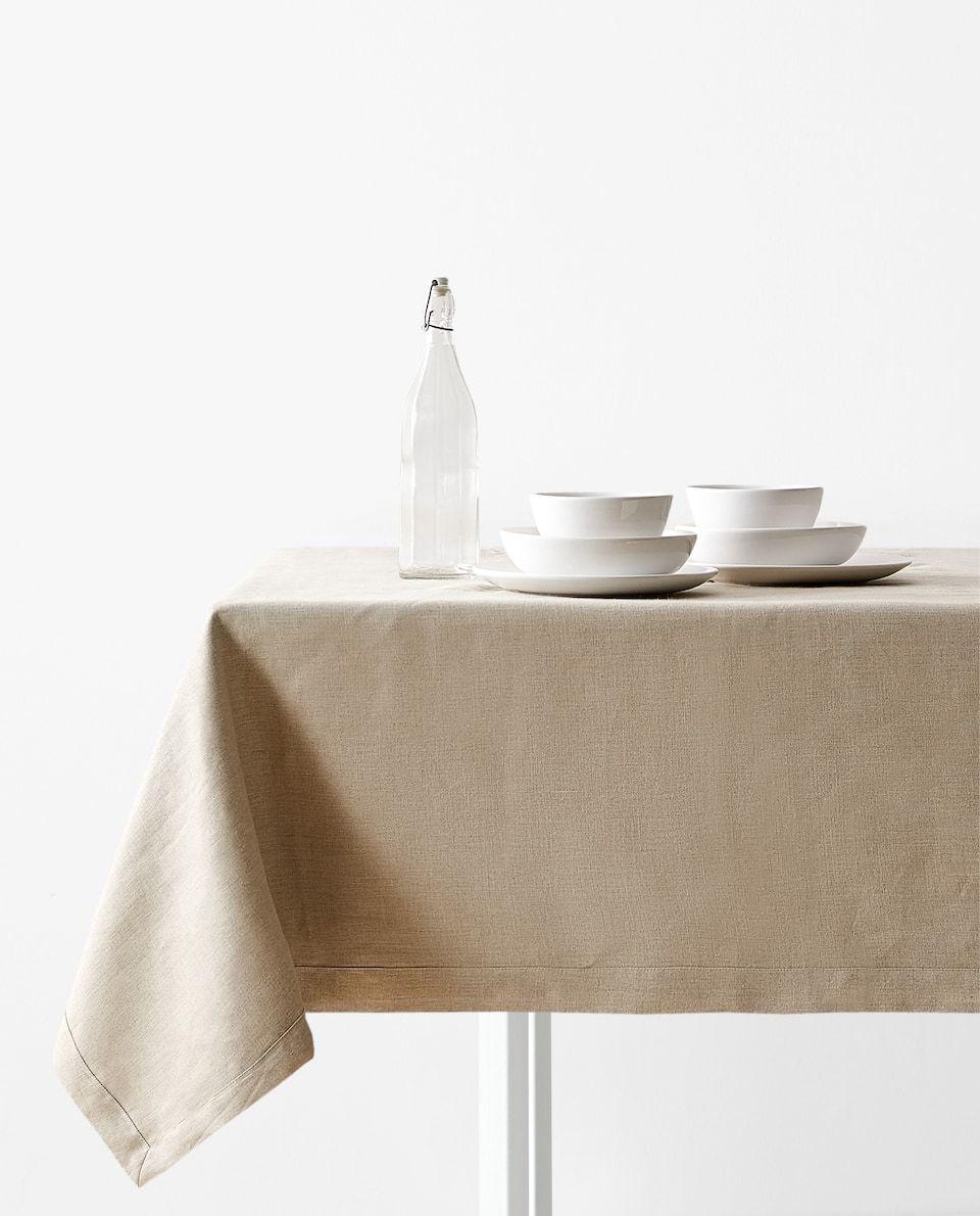 Linen Tablecloth Tablecloths Table Linen Dining Zara Home