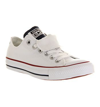 Exclusive Unisex Converse All Star White Blue Red Shoes