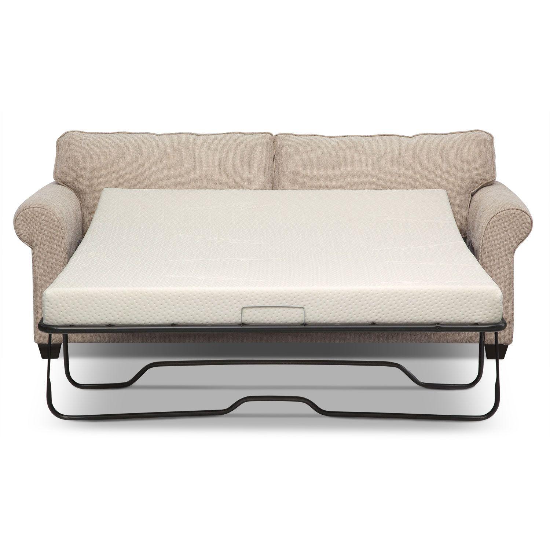 Fletcher Queen Memory Foam Sleeper Sofa Value City Furniture