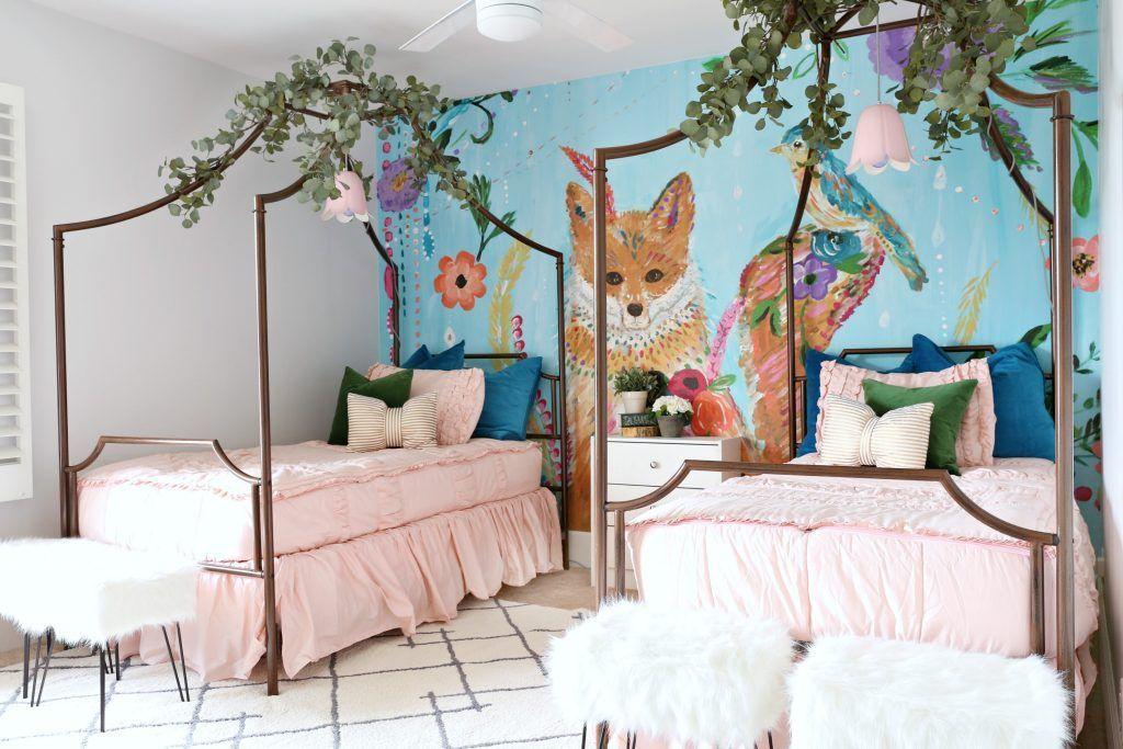 Fun  Creative Kids Room Ideas using Wallpaper Murals! - Create a