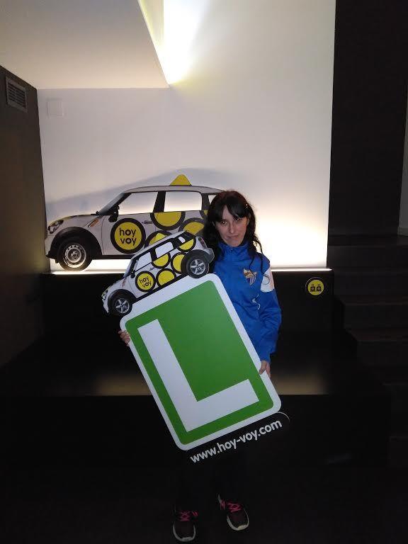 CAROLINA RABANEDA!!! #hoyvoy #autoescuela #hospitalet