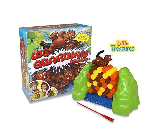 Log-Guardian Beaver Jam Board Game, Fun Indoor Family Fun 1