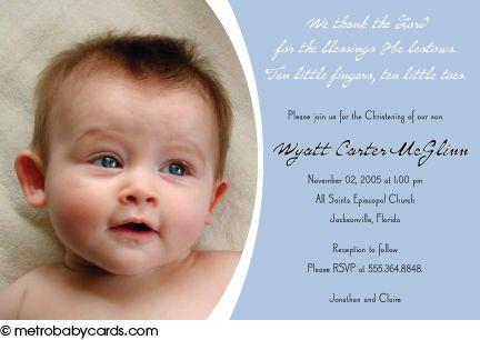 christening invitation design for boy - Google Search   Baptism ...