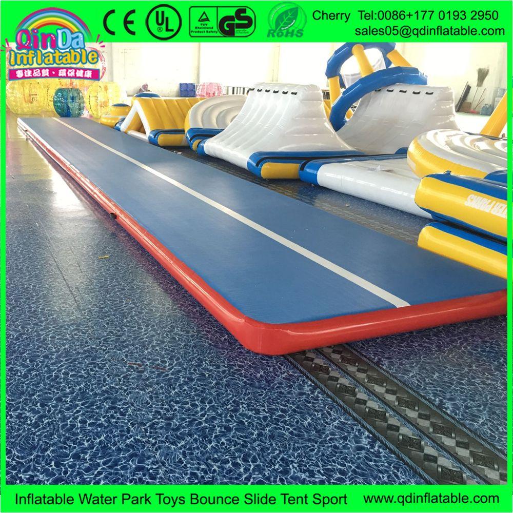 Rhythmic Gymnastics Air Floor Inflatable Gymnastics Mats Tumble