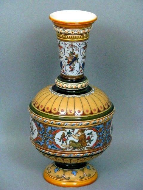 Mettlach Vase Villeroy & Boch um 1885 | METTLACH | Pinterest | eBay ...