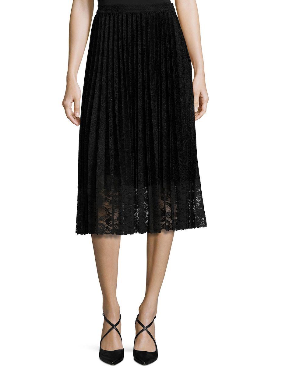 37df87acfa Vivienne Tam Lame Sun Pleated Skirt, #VivienneTam, #Sun, #Lame ...