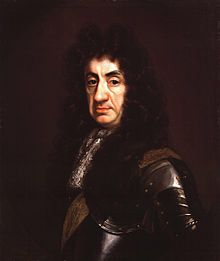 H.M. King Charles II. Painted by John Riley, C. 1680-1685.