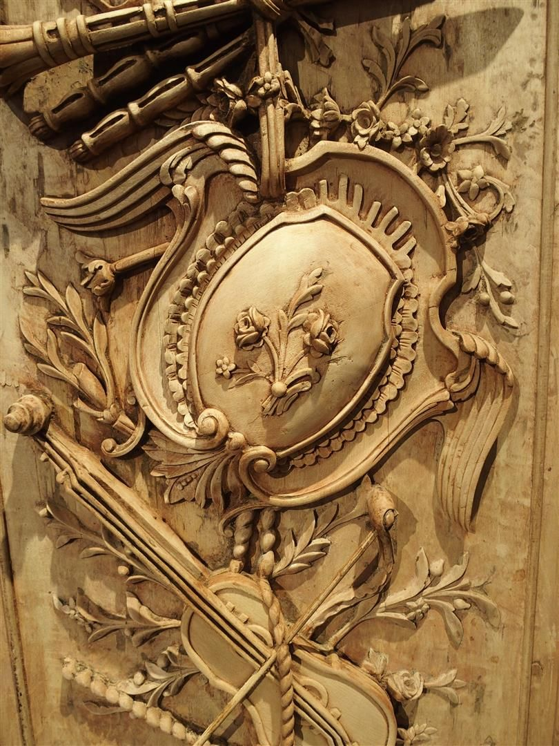 Large Louis XVI Carved Panel