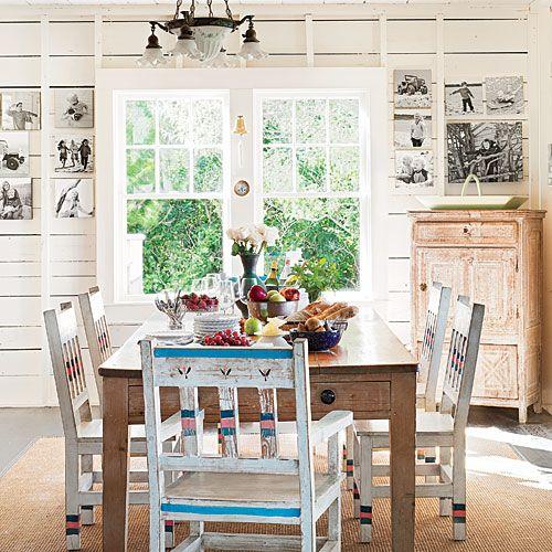 Rustic Dining Room - Cape Cod Cottage - Coastal Living