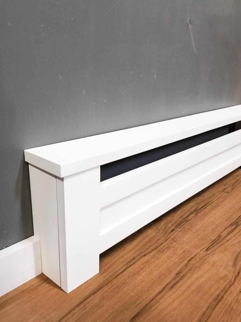 Shaker Style Custom Baseboard Heater Covers Custom