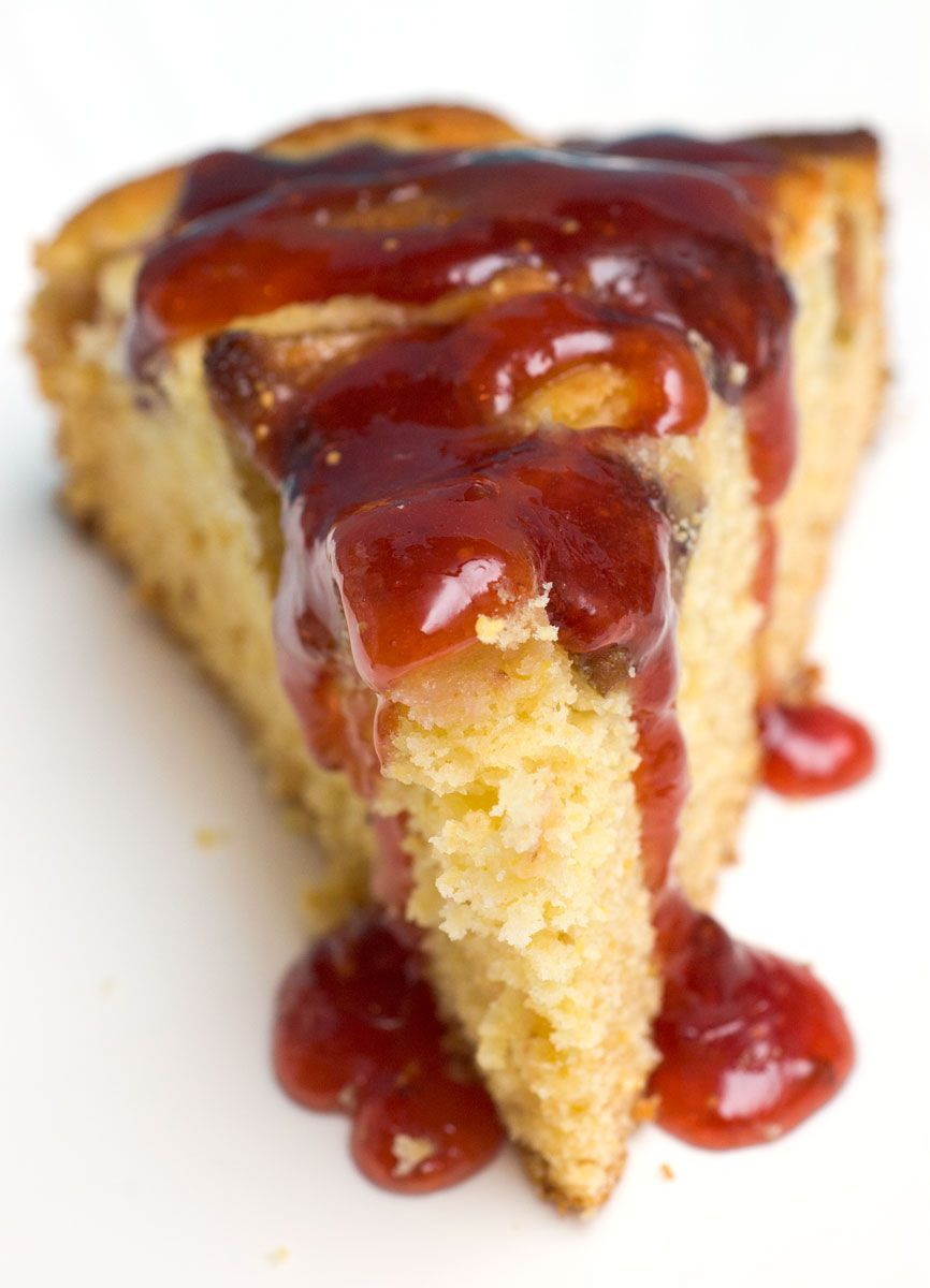 Sugar Spice By Celeste Dorie S Fresh Fig Cake With A Ruby Port Wine Sauce Fig Cake How Sweet Eats Fig Recipes