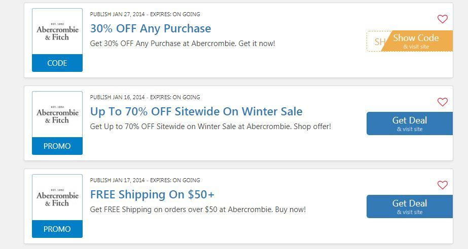 Abercrombie And Fitch 20 Off Coupon Code Abercrombie 10 Off Abercrombie 20 Off Entire Purchase Abercrombie Coding Coupons