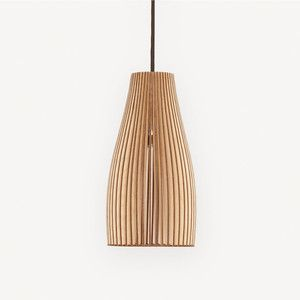 Ena Pendant Lamp Wood, 99€, now featured on Fab.