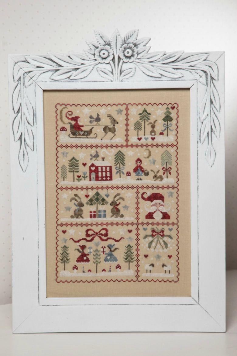 Tralala (avec images)   Point de croix, Modèles de point de croix, Broderie et couture