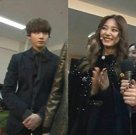 So This Is Why Jungkook Look Shy That Time Because He Secretly Look At Tzuyu I Wonder If Jungkook Stand Beside Tzuyu How H Jungkook Im Nayeon Bts Jungkook