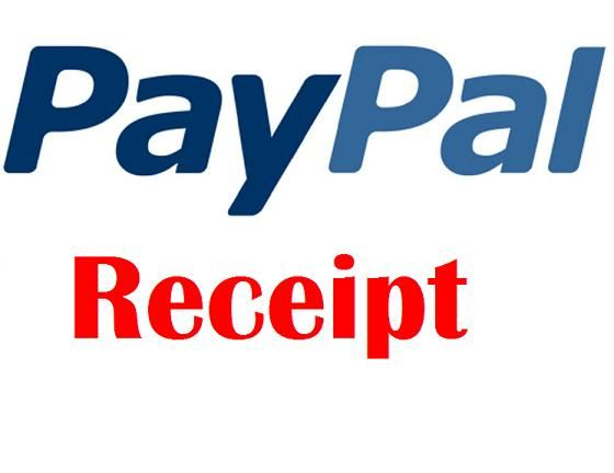 Phishing Scam PayPal Email Receipt - Receipt for your PayPal