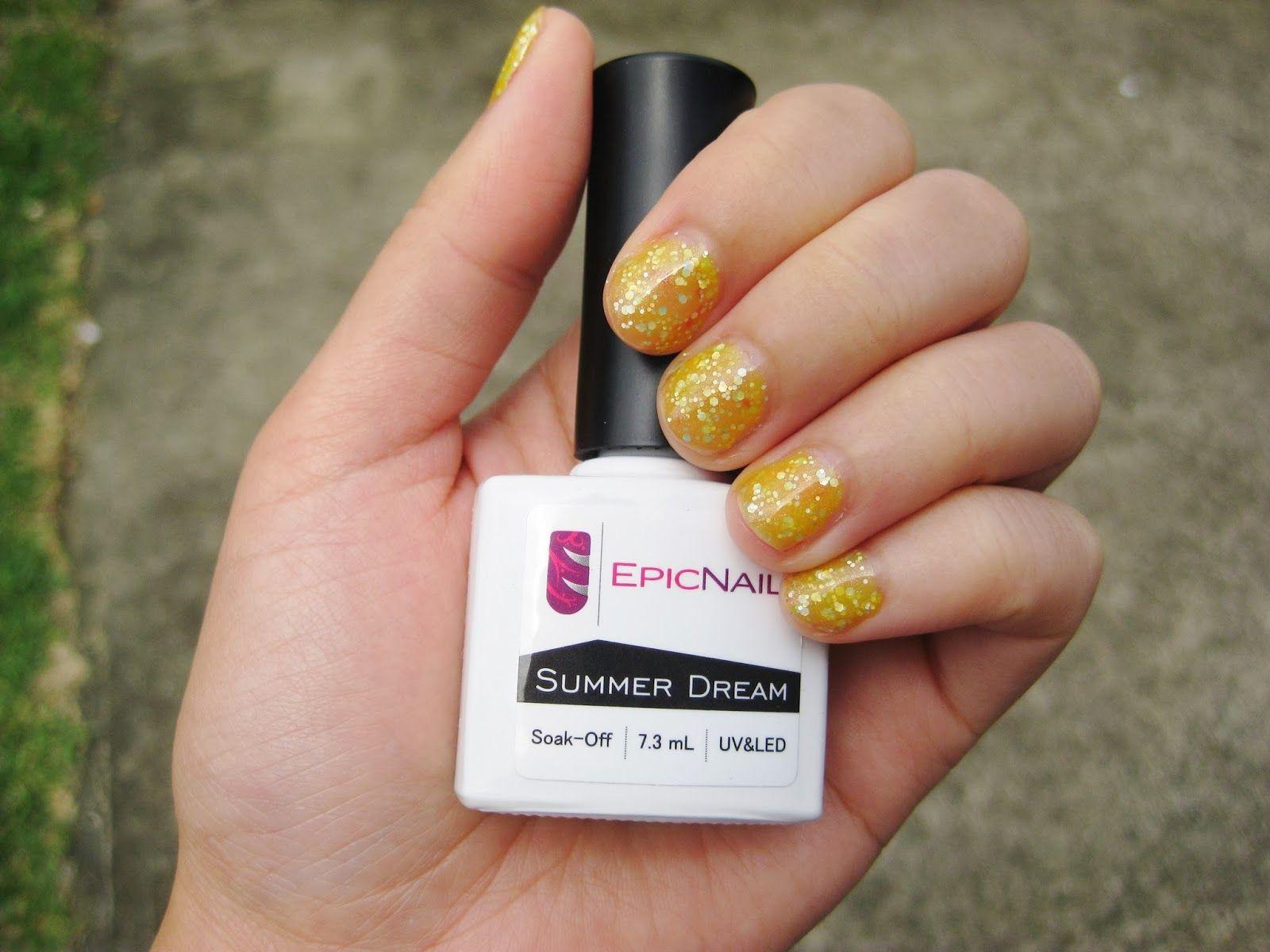 Shellac Nails in Summer Dream Shellac, Shellac nails, Nails