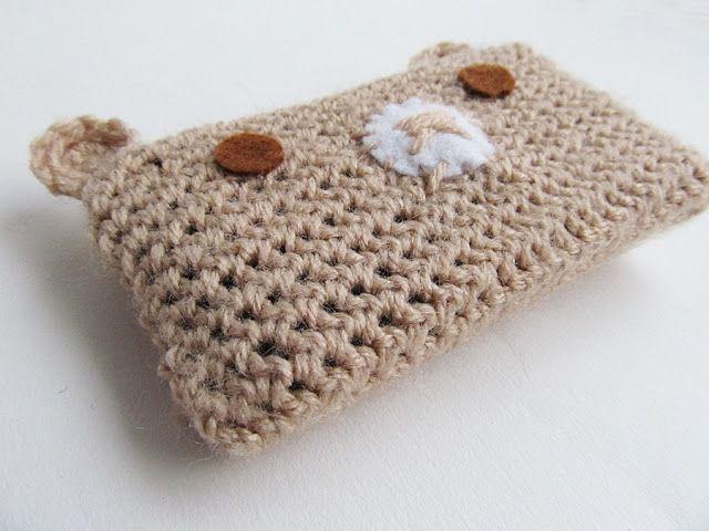 Little Things Blogged: {Crochet Kawaii Bear Phone Cosy} | Crochet ...