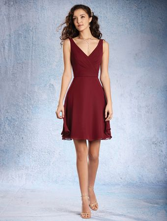 Alfred Angelo Bridesmaid Dress 7359 S In Chiffon At Weddington Way Find The Perfect Made To Order Dresses For Your Bridal Party