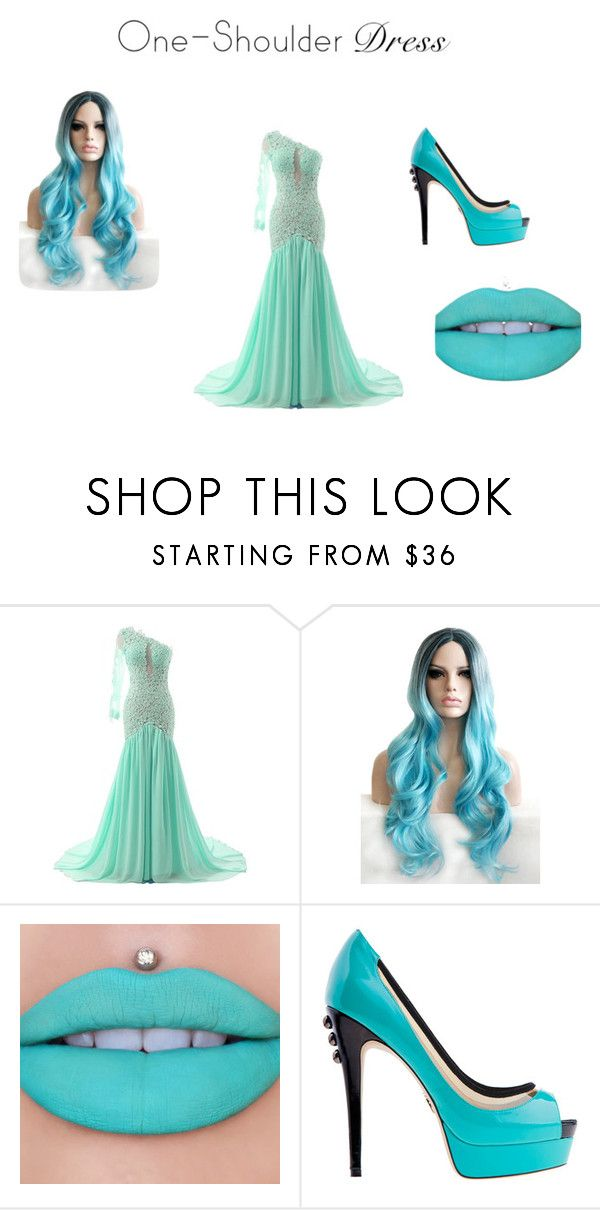 """""""Prom Night"""" by emilytraxler ❤ liked on Polyvore featuring Jeffree Star"""