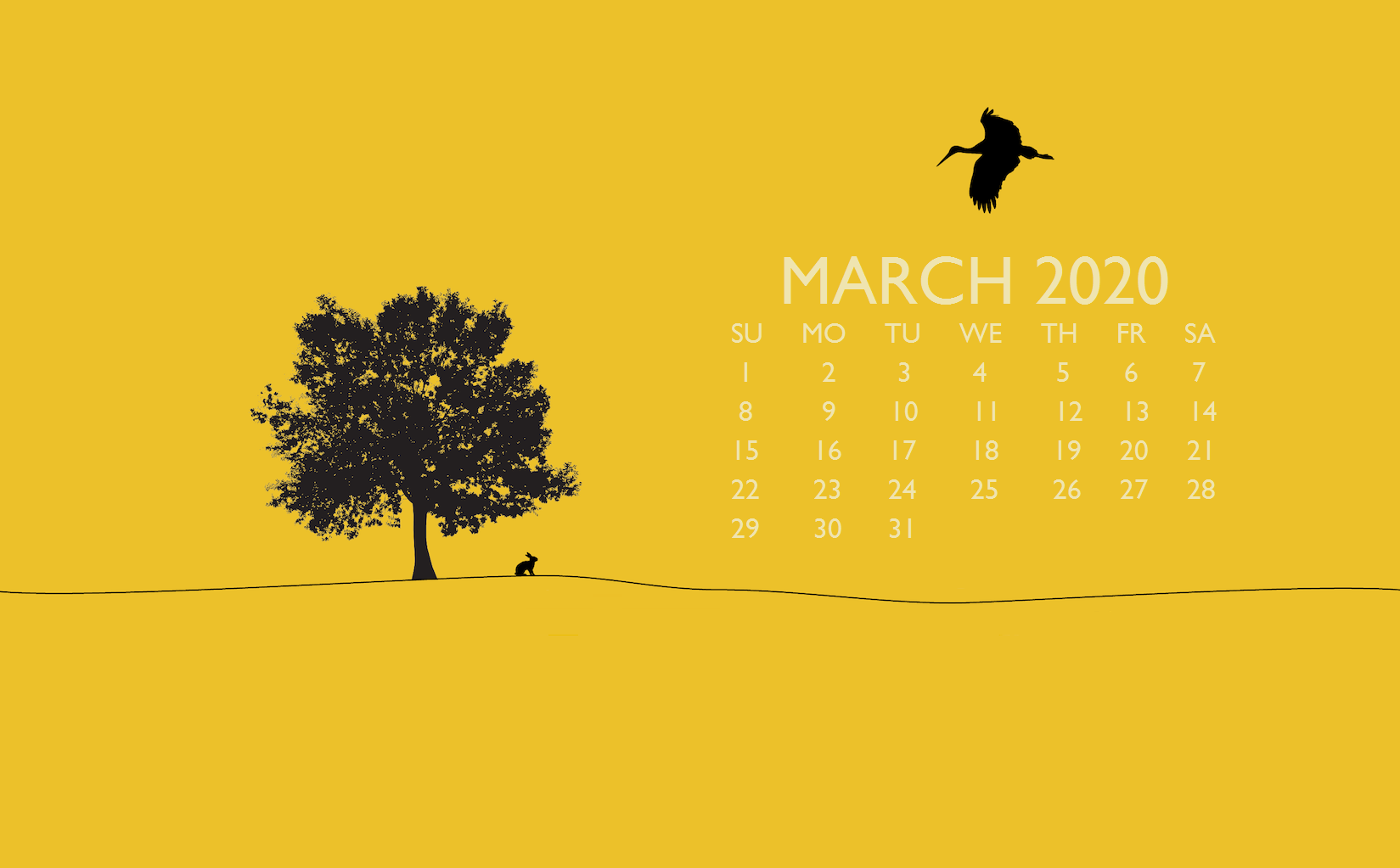 March 2020 Laptop Background Wallpaper In 2020 Calendar Wallpaper Calendar Background Calendar Printables