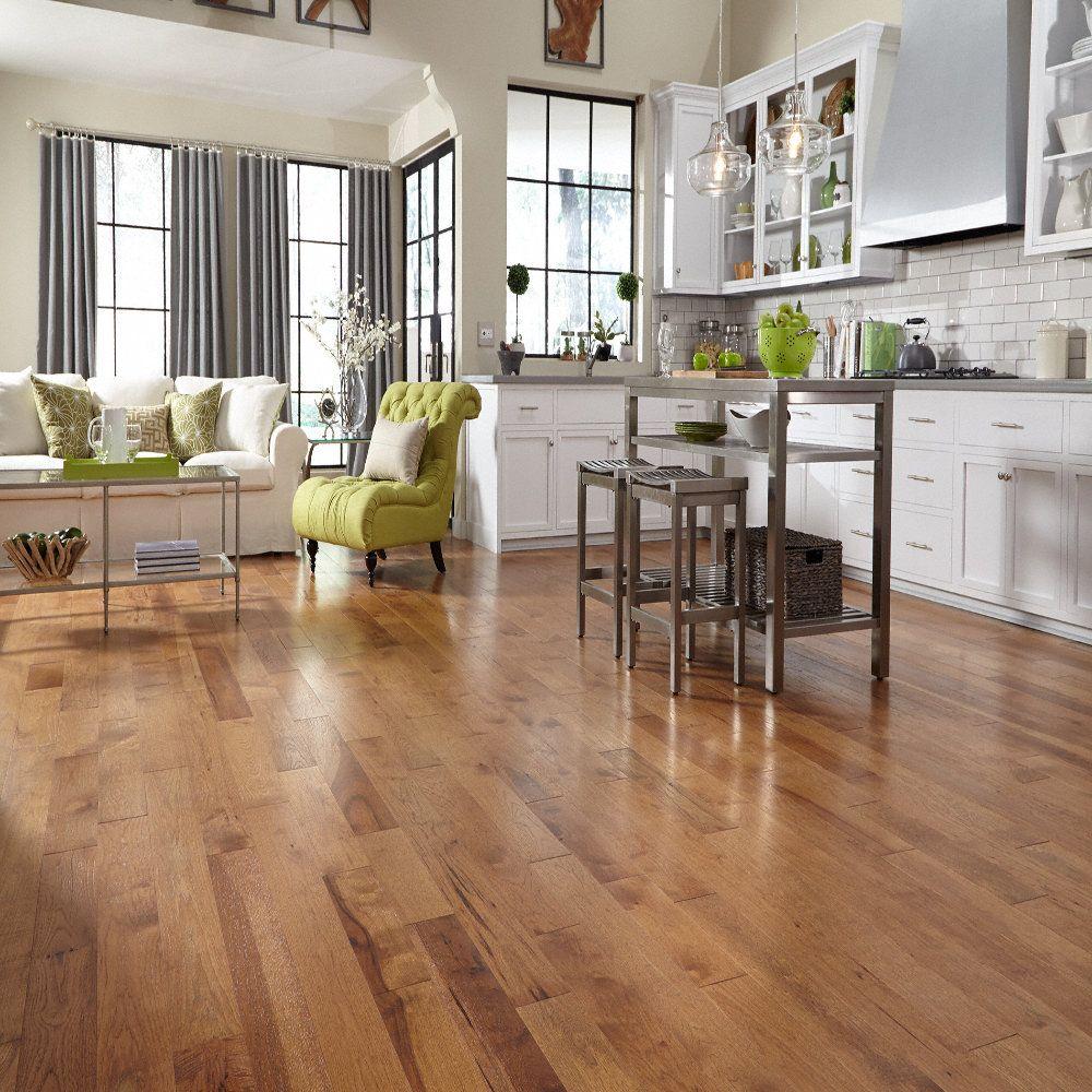 Sugar Mill Hickory Fullscreen Distressed Hardwood Floors
