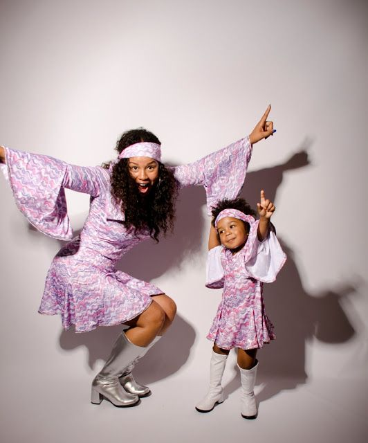 Adorable mommy and daughter Halloween costumes!!! Mommy  me - mother daughter halloween costume ideas
