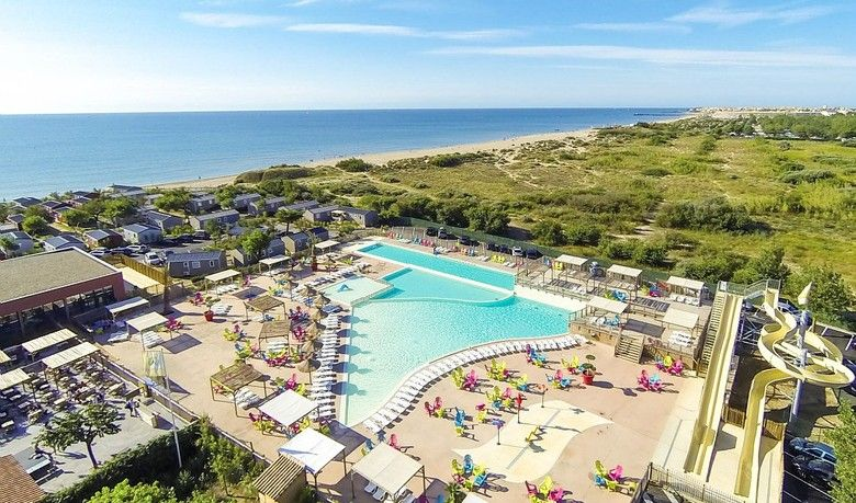 Les Méditerranées Beach Garden, Marseillan Plage is one of the 64 - camping a marseillanplage avec piscine