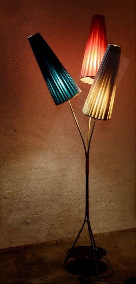 pin von olaf auf stehlampen pinterest lampen stehlampe und 50er. Black Bedroom Furniture Sets. Home Design Ideas
