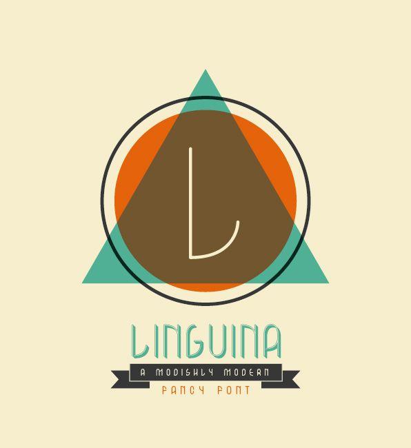 Linguina Font Gratis: Med Ness