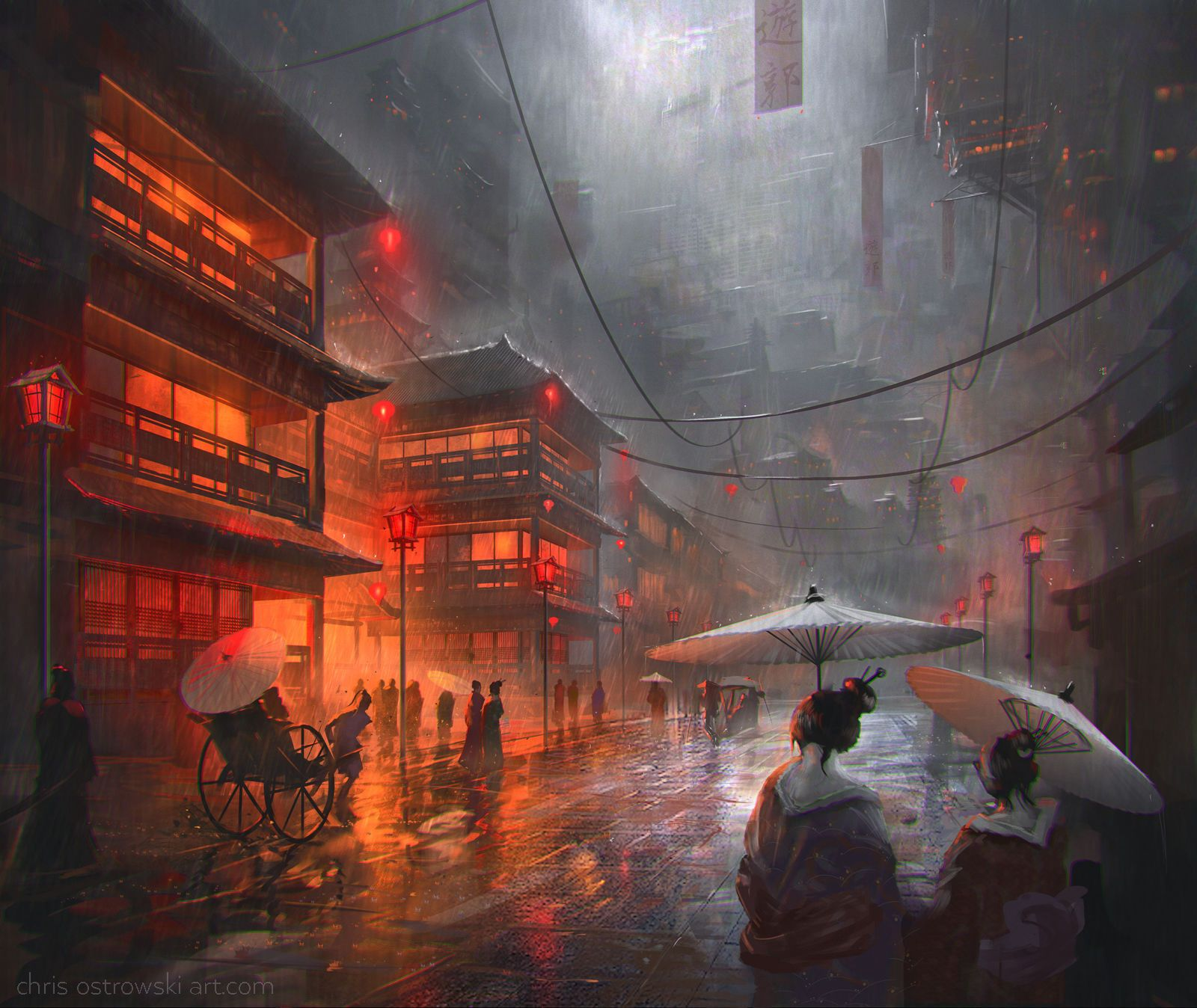 Image result for Environment Concept Art & Illustration by Chris Ostrowski