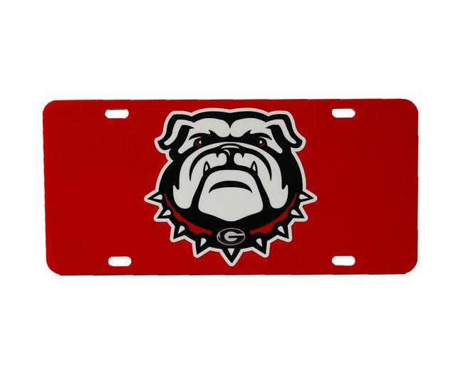 Lplpol Georgia Bulldogs License Plate Georgia Bulldogs Car Tag