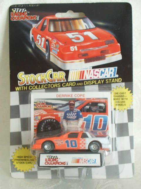 1990 Racing Champions 1:64 Diecast NASCAR Derrike Cope Purolator Lumina #10 a