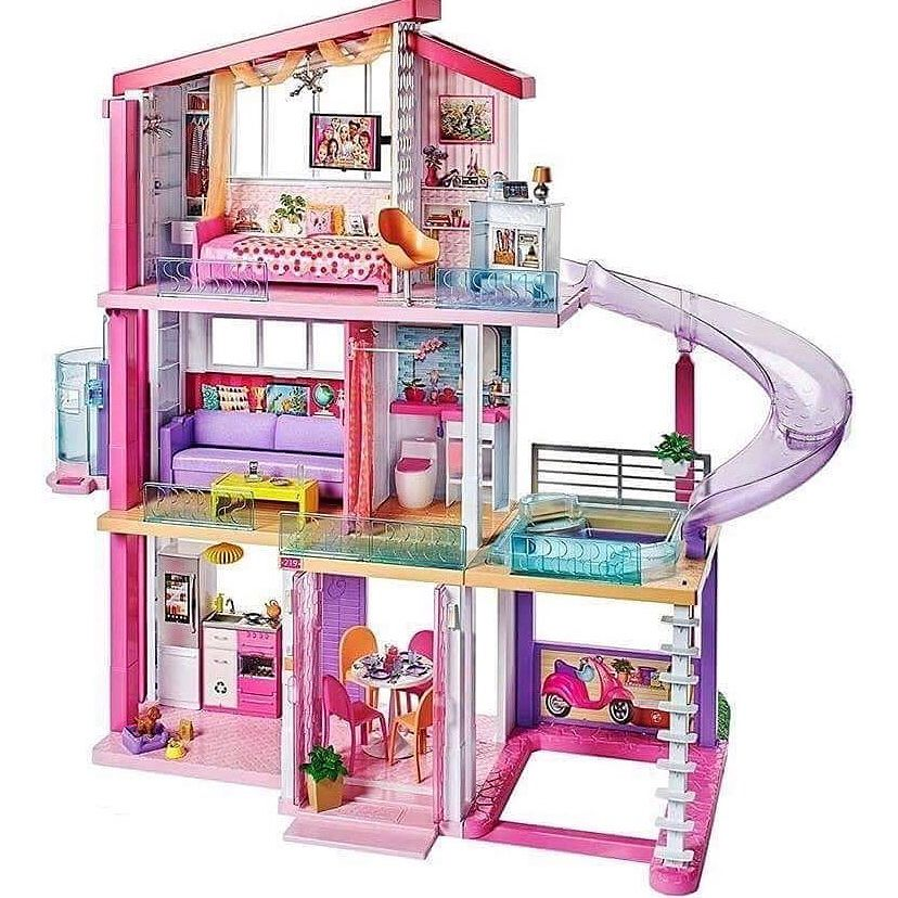The New 2018 Barbie Dreamhouse Id Love A Slide In My House