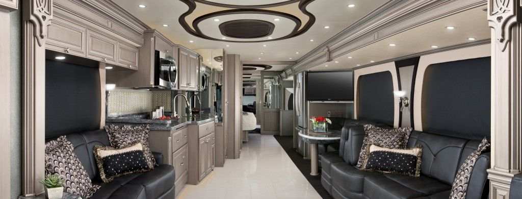 Luxury motorhomes interior go back gallery for for Interior motorhome designs