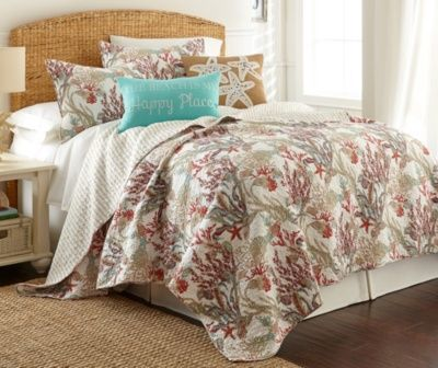 This Ivy Hill Serenity Reef Full/Queen Quilt Set features one 88 ... : ivy hill quilts - Adamdwight.com