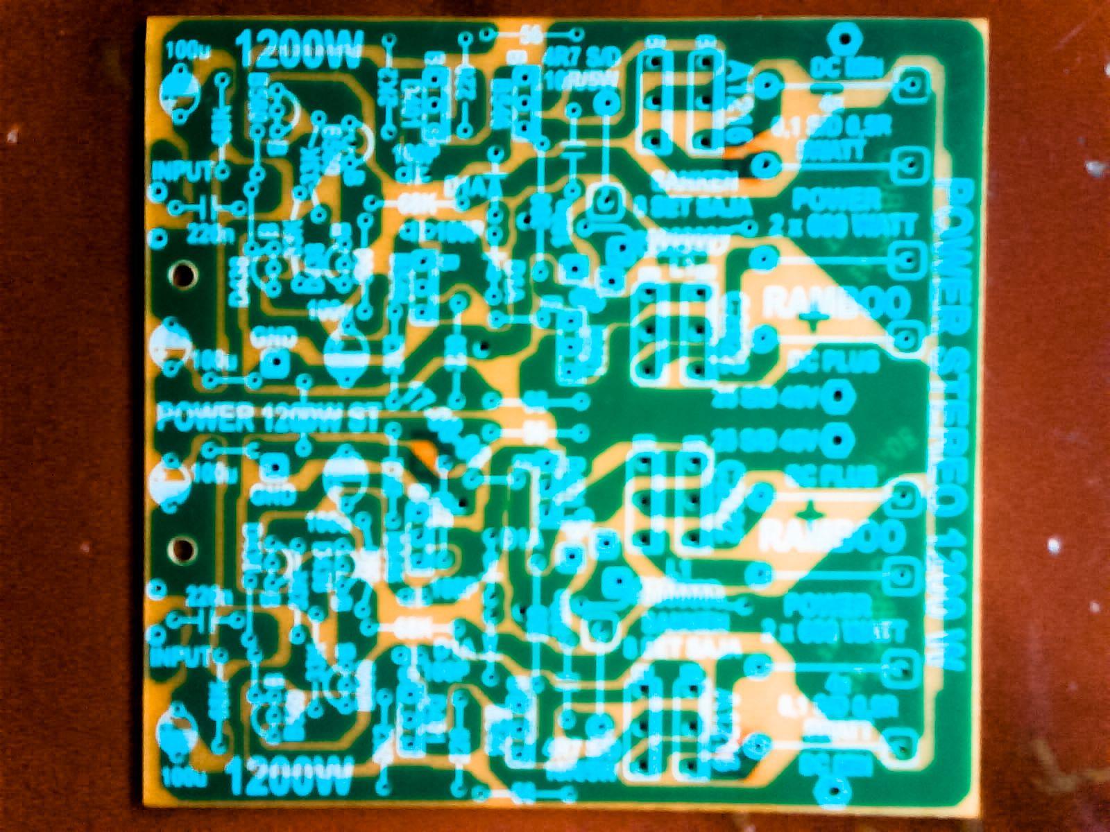 High Power Amplifier - Amp Circuit Diagram | AMPLIFIER | Pinterest ...