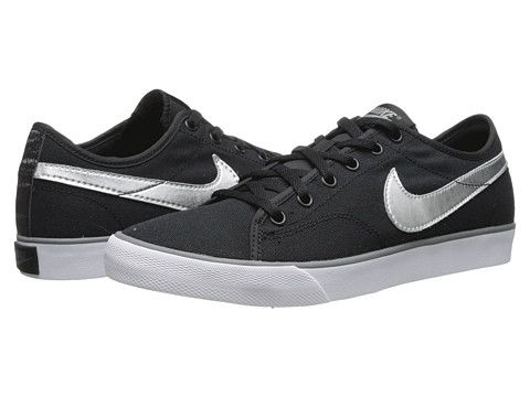 Nike Primo Court Canvas Black/Cool Grey
