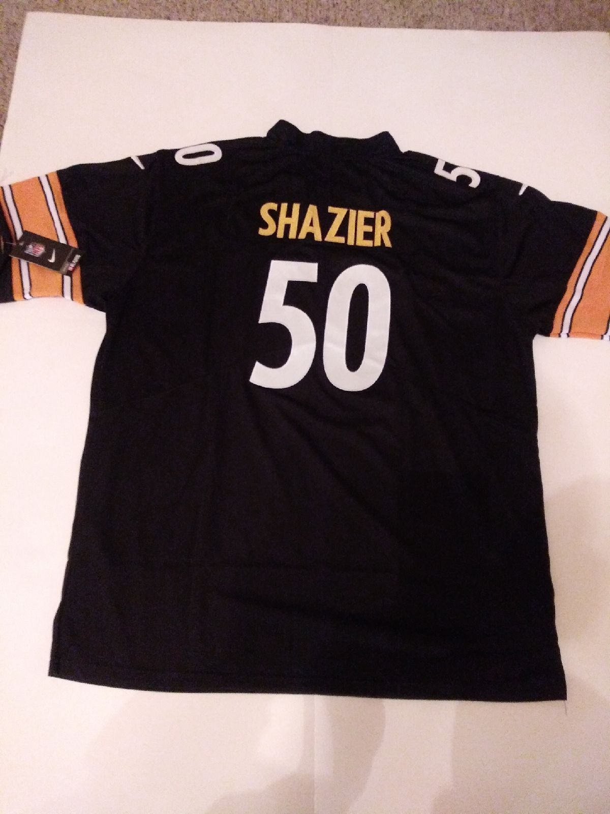 reputable site 31291 89615 Pittsburgh Steelers #50 Ryan Shazier Black Jersey Size 3xl ...