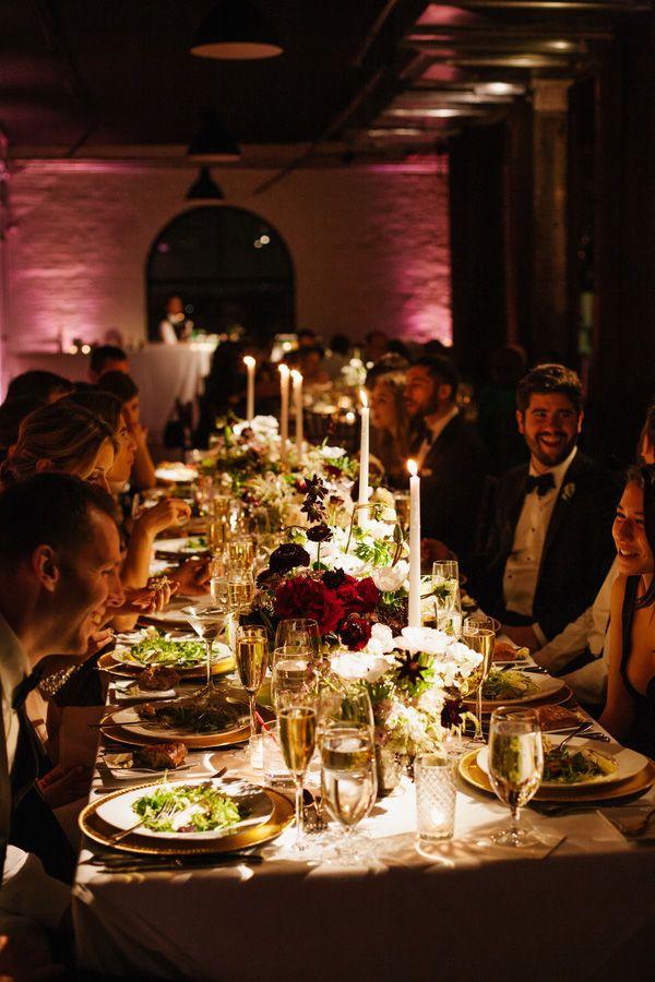 Amelia Maxs Chic Brooklyn Ny Real Wedding By Levi Stolove